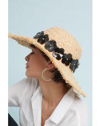 Tracy Watts | San Sebastian Floppy Hat | Lyst
