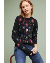 Seen, Worn, Kept - Camellia Embroidered Jumper - Lyst