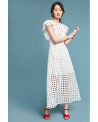 Antik Batik - Flutter-sleeve Lace Maxi Dress - Lyst