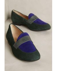 Miss Albright | Colorblock Loafers | Lyst