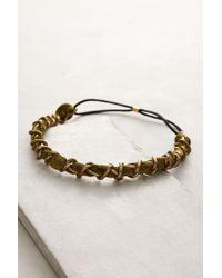 Lena Bernard - Chained Velvet Headband - Lyst