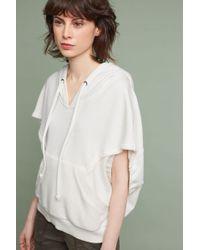 Akemi + Kin | Cropped Cocoon Sweatshirt | Lyst