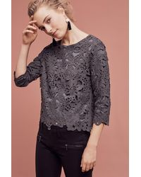 Knitted & Knotted - Lucca Lasercut Sweater - Lyst