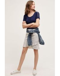 Weston - Marled Knit Skirt - Lyst