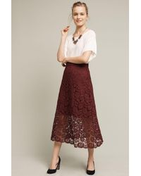 HD In Paris - Laced Artifact Midi Skirt - Lyst