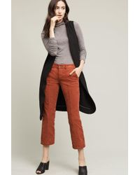 Pilcro - Stet Mid-rise Crop Flare Cords - Lyst
