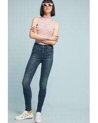 Anthropologie - High-rise Skinny Ankle Jeans - Lyst