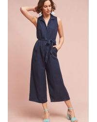 On The Road | Numana Collared Jumpsuit | Lyst