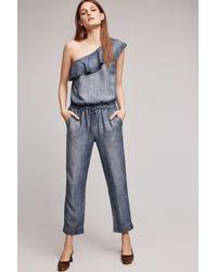 Cloth & Stone | Miami One-shoulder Jumpsuit | Lyst