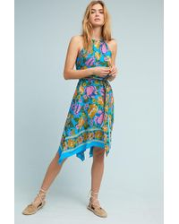 Lilka - Dinan Halter-neck Beach Dress - Lyst
