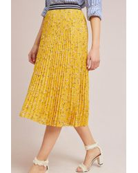 Seen, Worn, Kept - Cervantes Pleated Skirt - Lyst