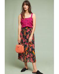 Just Female - Moe Pleated Skirt - Lyst
