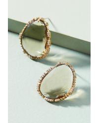 Serefina - Sugar Cube Post Earrings - Lyst