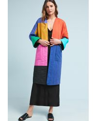 Mara Hoffman - Temple Colorblock Coat - Lyst