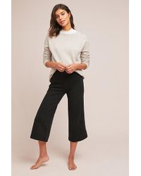 Anthropologie - Terry Wide-leg Trousers - Lyst