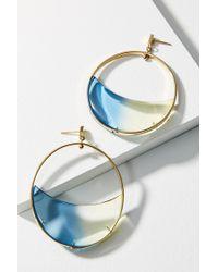 Colette Malouf - Gemology Lucite Luna Drop Earrings - Lyst