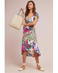 Plenty by Tracy Reese - Ennis Floral Dress - Lyst