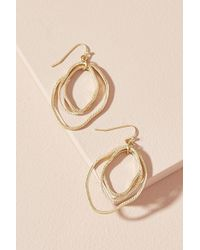 Anthropologie - Bethany Hoop Earrings - Lyst