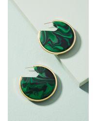 Rachel Comey - Nina Stone-filled Hoop Earrings - Lyst