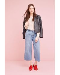 Just Female - Kayla Wide-leg Jeans - Lyst