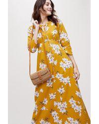 Anthropologie - Annika Floral-print Dress - Lyst