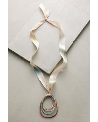 Sibilia - Marbled Metals Pendant Necklace - Lyst