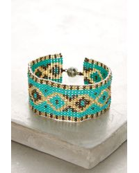Serefina - Amala Beaded Bracelet - Lyst