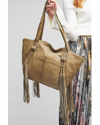 Day & Mood - Kendra Leather Tassel Shoulder Bag - Lyst