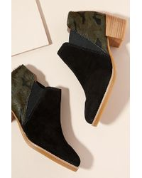 All Black - Pony Hair Boots - Lyst