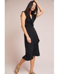 Velvet By Graham & Spencer   Corolla Wrap Dress   Lyst