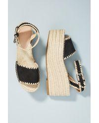 Pour La Victoire - Rian Wedge Sandals - Lyst