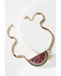 Anton Heunis - Jazzy Fruit Pendant Necklace - Lyst