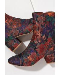 Miista - Pattie Floral-jacquard Ankle Boots - Lyst