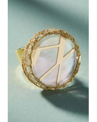 Nocturne - Ray Pearl Cocktail Ring - Lyst