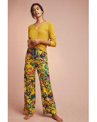 Anthropologie - Pantalon de pyjama en flanelle imprimée Daina - Lyst