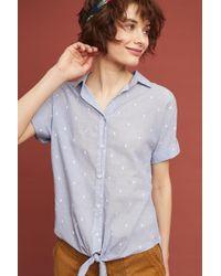 Cloth & Stone - Clip-dot Buttondown - Lyst
