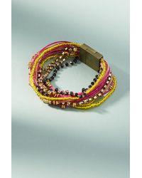 Serefina - Rita Beaded Bracelet - Lyst