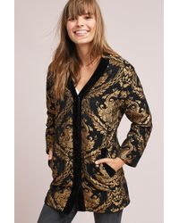 Endless Rose - Jacquard Cocoon Coat - Lyst