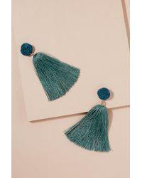 Serefina - Montrose Tassel Earrings - Lyst