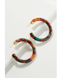 Gas Bijoux - Carol Resin Hoop Earrings - Lyst