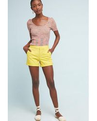 Anthropologie - Relaxed Chino Shorts - Lyst