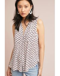 8962d01dc78ea6 Anthropologie - Colloquial Sleeveless Blouse - Lyst