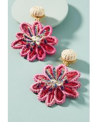 Mercedes Salazar - Woven Seastar Drop Earrings - Lyst