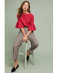 Moth - Anais Bell-sleeved Top - Lyst