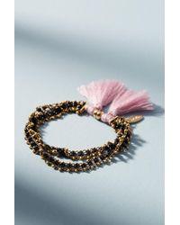 Serefina - Jaden Beaded Bracelet - Lyst