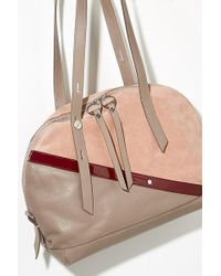 Liebeskind - Colourblocked Bowling Bag - Lyst