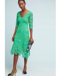 Plenty by Tracy Reese - Angelica Lace Midi Dress - Lyst