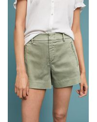 Level 99 - Brit High-rise Trouser Shorts - Lyst