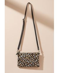 Anthropologie - Lilly Printed Leather Crossbody Bag - Lyst