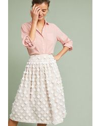 Eliza J - Textured Tulle Skirt - Lyst